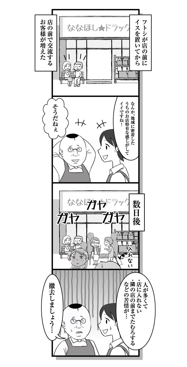 漫画ななほし★ドラッグ第54話「井戸端会議②」