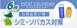 販促カレンダー6月:シミ・ソバカス対策